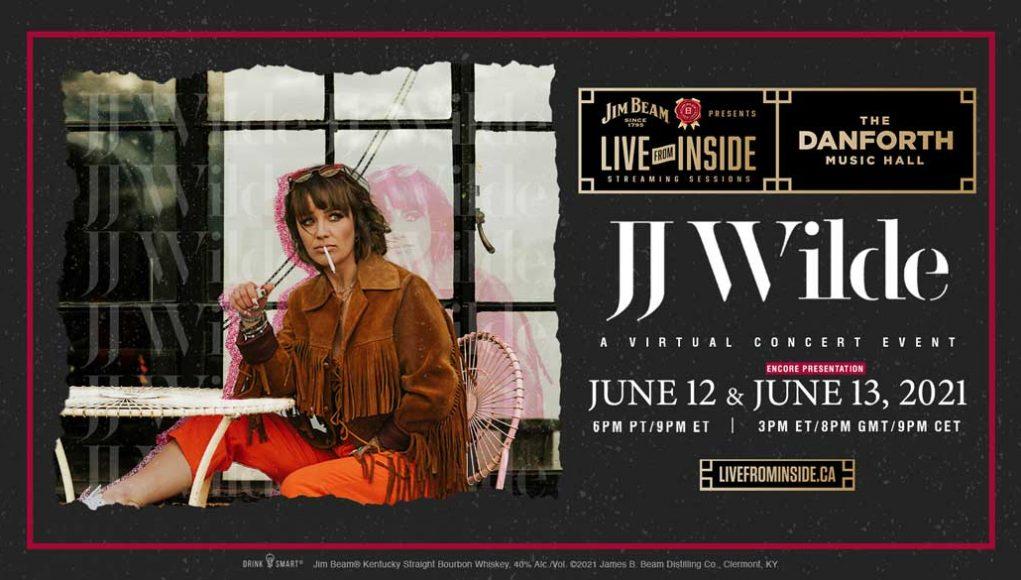 JIM BEAM® BOURBON PRESENTS 'LIVE FROM INSIDE' ANNOUNCES JJ WILDE